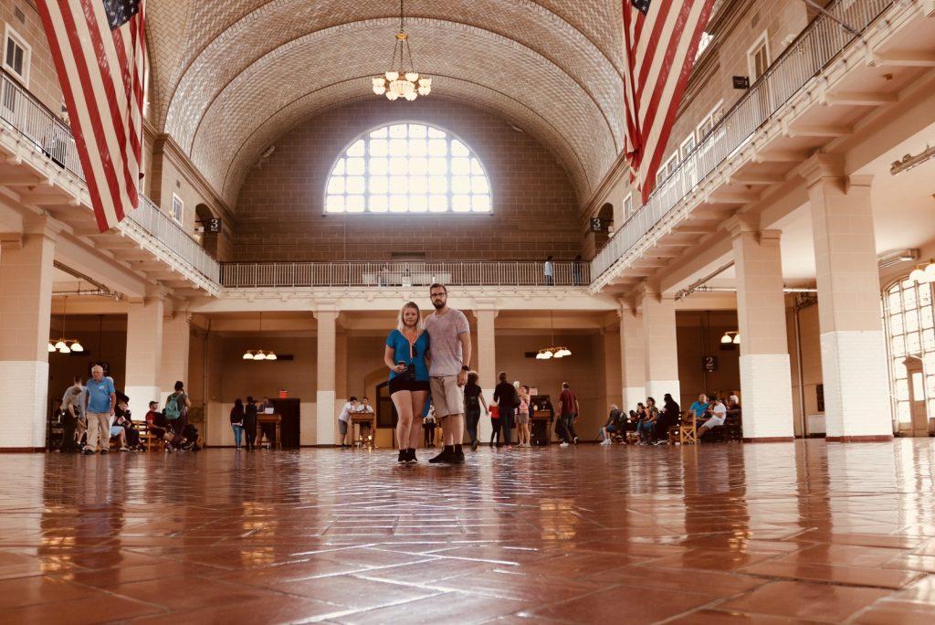 Ellis Island - Registrierraum