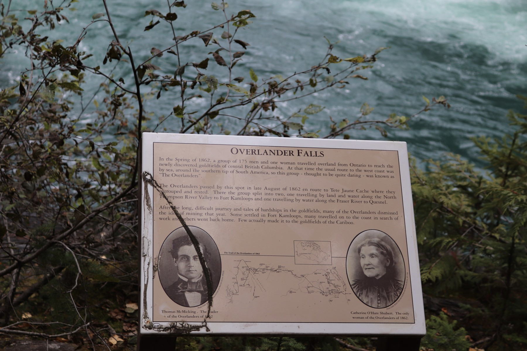 Overleander Falls