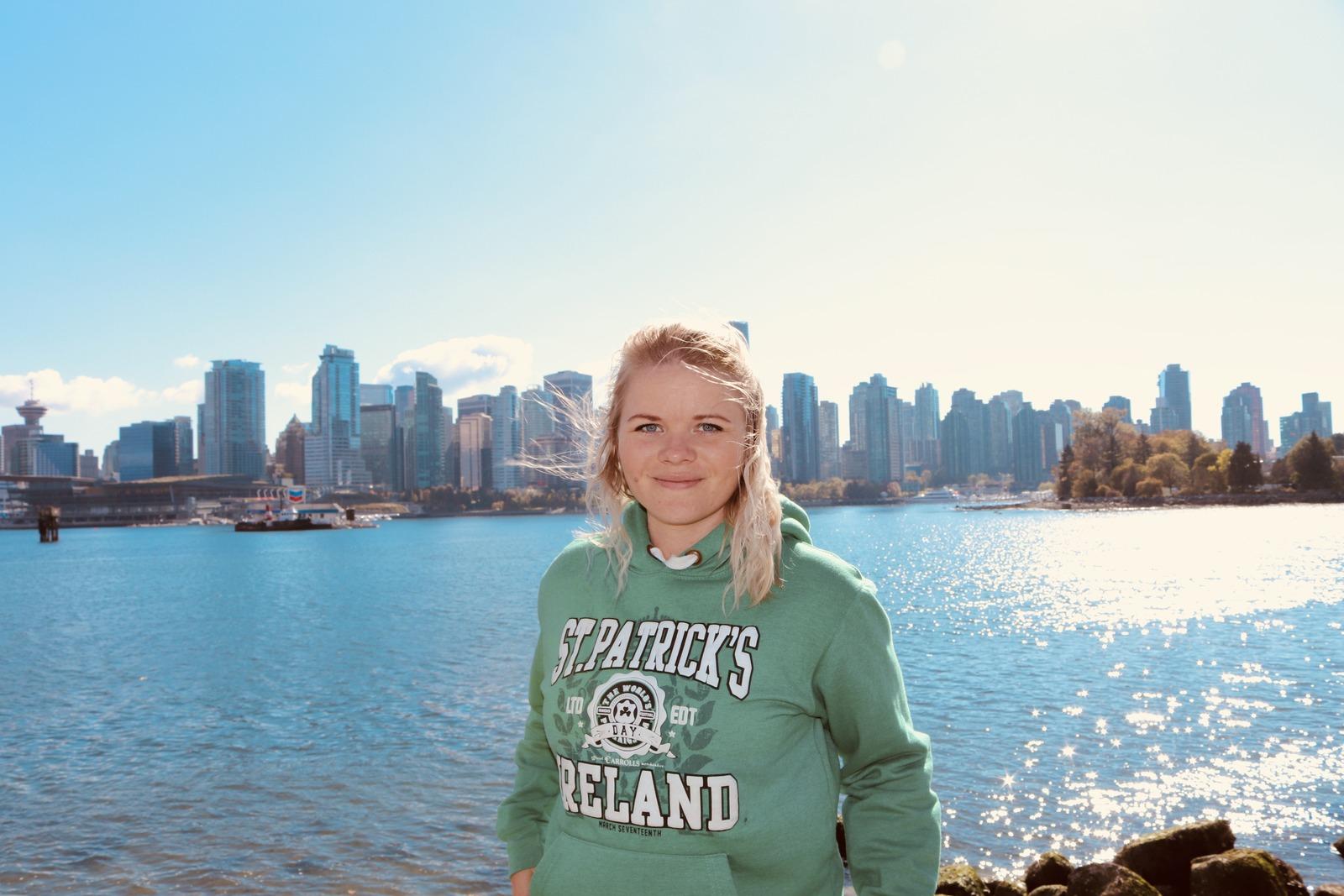 Katja in Vancouver