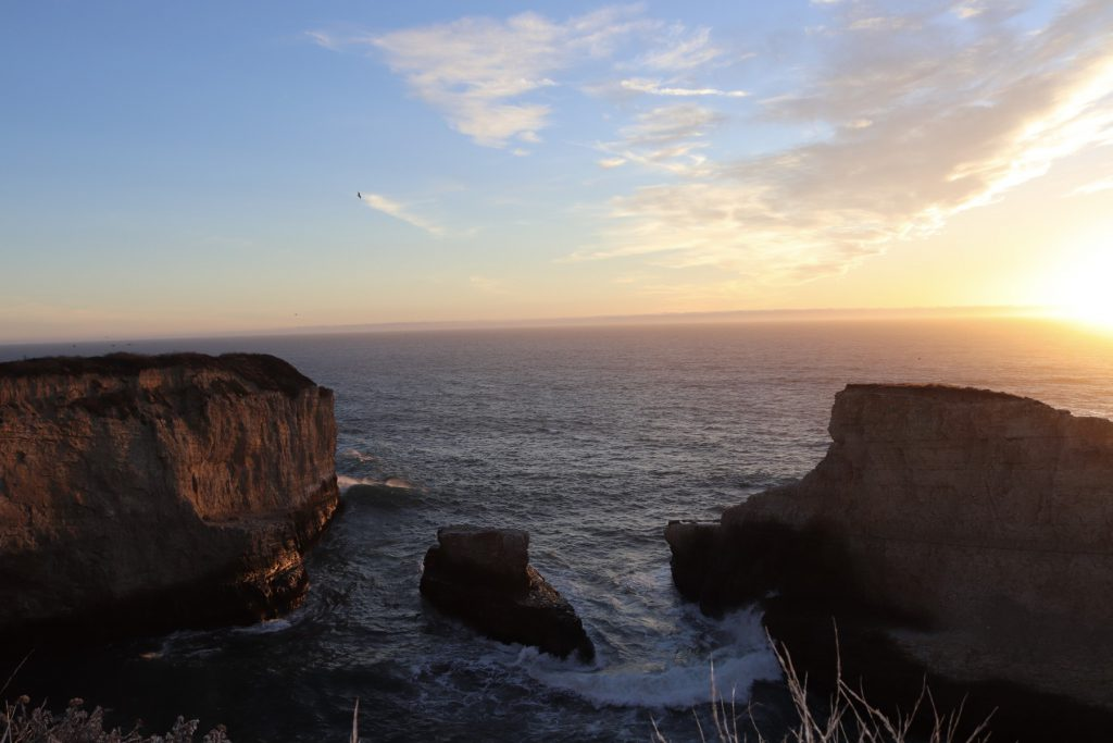 Küste Santa Cruz