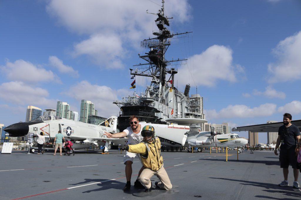 USS Midway Flugdeck