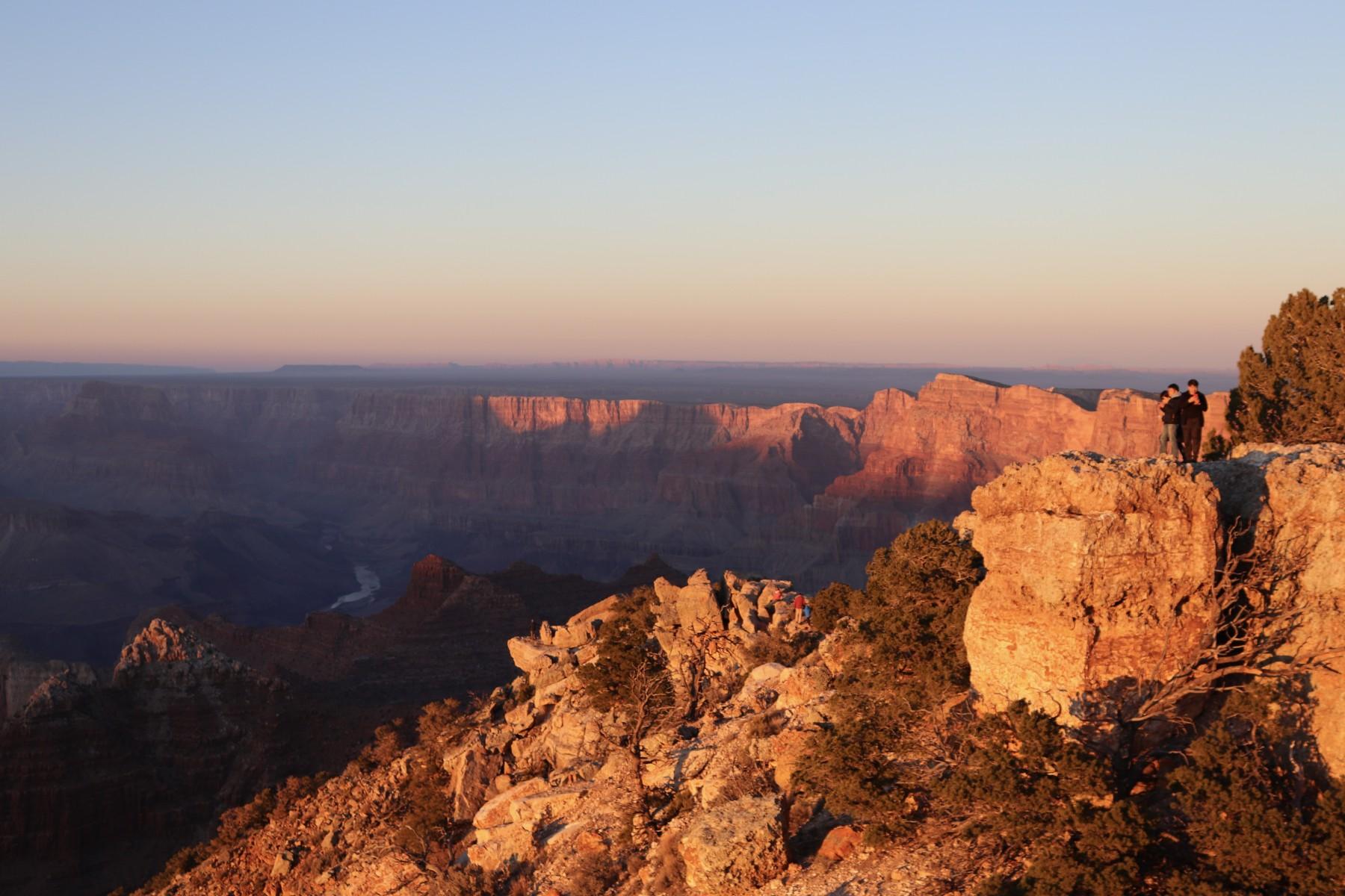 Sonnenuntergang im Grand Canyon Nationalpark