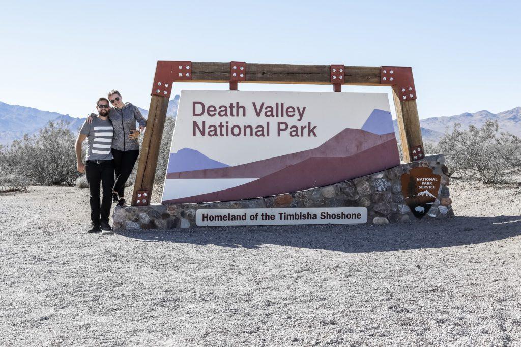 Schild Death Valley