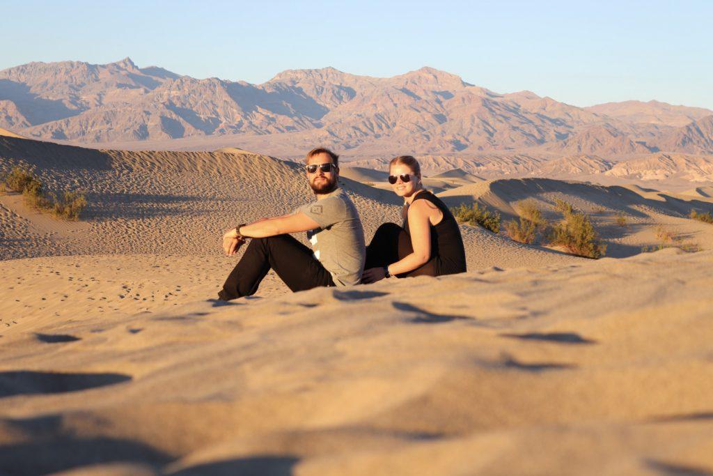 Mesquite Flats Sanddünen