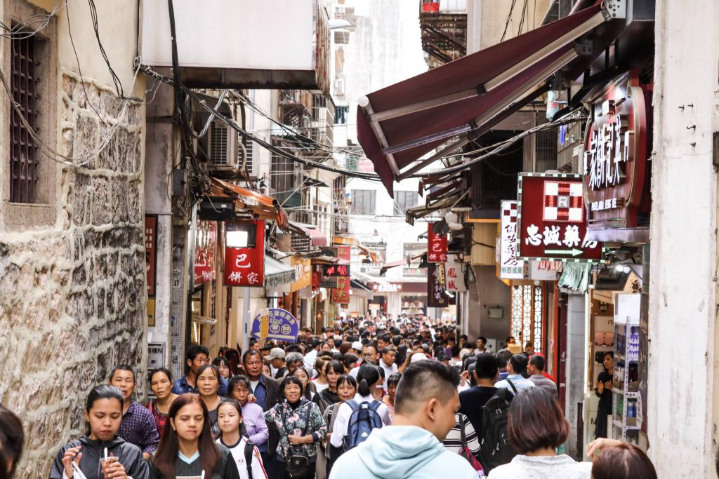 Gasse in Macao