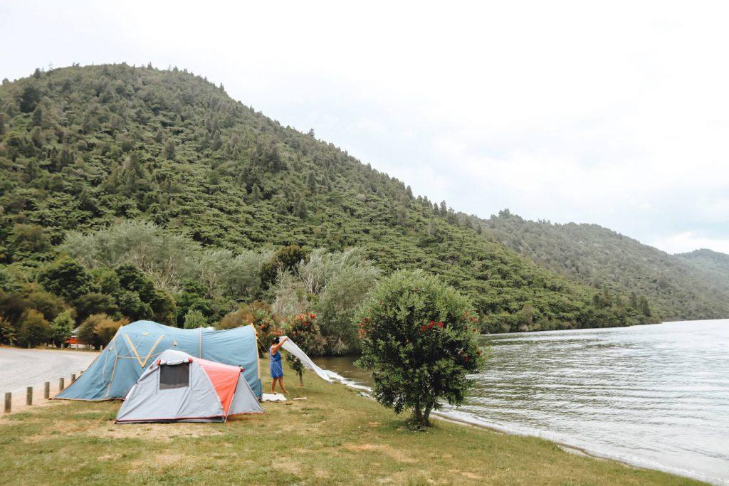 Camping Lake Okareka
